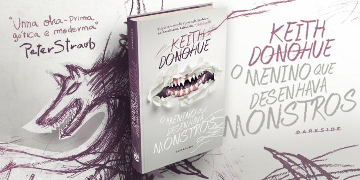 Sintetizando: O menino que desenhava monstros – KeithDonohue